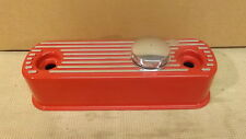 CLASSIC MINI ALLOY ROCKER COVER - FITS ALL A SERIES ENGINES - RC1 - RED