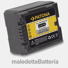 VW-VBG130 Batteria PATONA per Panasonic Lumix DMC DMC-L10 DMC-L10K (MN3)