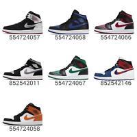 Nike Air Jordan 1 Mid Mens Classic AJ1 Sneakers Shoes Pick 1