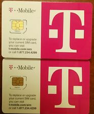 Wholesale Lot of  100 T-Mobile 4G LTE FACTORY MICRO Sim Card. Tmobile