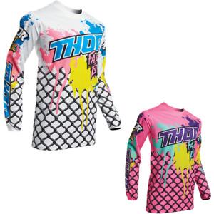Thor MX Motocross Men/'s Pulse Fast Boyz Jersey Choose Size Pink