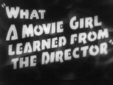 """Ridiculous 16mm FILM GAG MOVIE   """"What the Starlet Learned from the Director"""""""