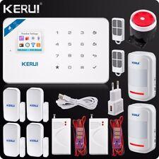 Kerui W18 Wireless WIFI GSM Security Burglar Alarm System Water Leak Detector