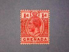 Grenada. KGV 1921 1d Carmine-Red. SG113. Wmk Mult Script CA. P14. Used.