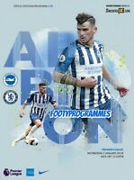 Brighton v Chelsea 2019/20 Premier League Programme Free UK Post