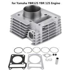 54mm Cylinder Kit Barrel w/ Piston Gasket Big Bore for Yamaha YBR125 Engine WT