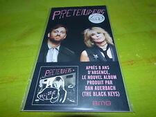 PRETENDERS - DAN AUERBACH - BLACK KEYS !!ALONE !PLV!!RARE FRENCH PROMO DISPLAY!!