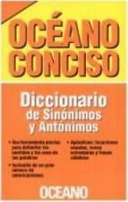 Dicionario De Sinonimos Y Antonimos (Spanish Edition)