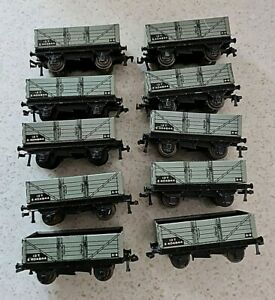 Hornby E404844 12T Coal Wagon OO Gauge Joblot 10 Dublo D1