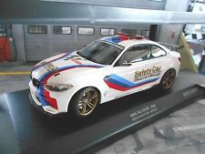 BMW 2er M2 M Coupe Safety Car Racing 2016 Moto GP NEU Minichamps Diecast 1:18