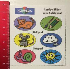 ADESIVI/Sticker: Master-Aid immagini divertenti da incollare-ortopad (310416193)