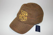NWT RALPH LAUREN Girl's 7-16 Multi-Color Tweed Embroidered RL Logo Baseball Hat