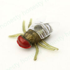 12 Pcs House Fly Trick Plastic Insect Bugs Kids Toy Halloween Party Bag Filler