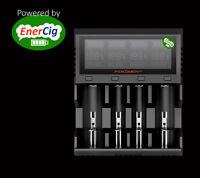 ENERCIG FOLOMOV A4 LC-DISPLAY Ultra-Schnell Ladegerät 1-4 Li-Ion, LiFePo4, Ni-Mh