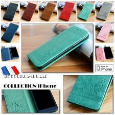 Etui Coque housse LOVE Premium PU Leather Case Cover iphone 5 SE 6 6s 7 8 et +