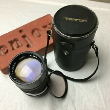 AUTO TAMRON Adapt-A-Matic Telephoto Lens 135mm f/2.8 M42 Mount W/ Case + Filter