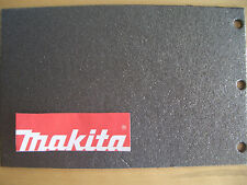 Makita 9403 LEVIGATRICE A NASTRO Carbonio Imbottitura base. per l'aggiornamento di supporto di stoffa sughero & gomma