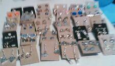Wholesale Stud Bead Earrings Lot Handmade 20 Pairs! Free Shipping!
