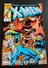 The Uncanny X-Men #287 (Apr 1992, Marvel) - Origin of Bishop - Vf-