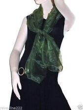 Etole/foulard/chale en organza, idéal avec robe de soirée VERT
