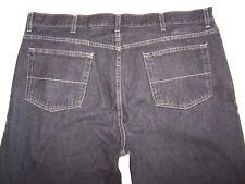 Mens Faded Glory Bootcut Black Denim Jeans Size 44X30 on Tag 45X29 1/2 Actua EUC