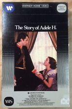 The Story Of Adele H. (VHS, 1981) Isabelle Adjani French Sub English PreOwned