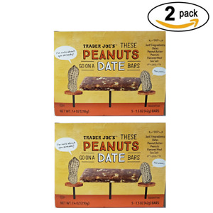 Traders Joe's Go On A Date Peanuts These 5.15oz each (2 pack)