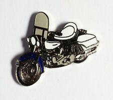 Moto noire selle blanche