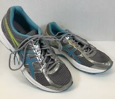 Asics Gel-Contend 4 Ortholite Sneakers Shoes Mesh Women Size 9.5 T767Q Teal Grey