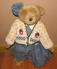 Boyds Bear Plush Stuffed Teddy Collectible Toy Bearwear Clarissa