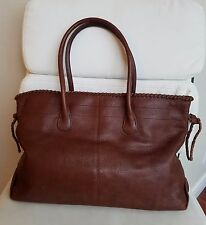 Banana Republic Large Pebbled Leather Purse/Handbag/Tote/Shopper with 2 Handles