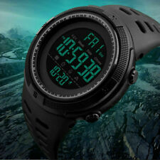 Reloj SKMEI militar caminar deporte impermeable para hombres 1251 Digital LED Reloj Negro