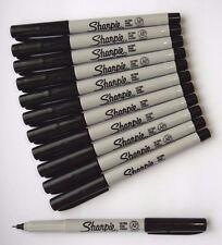 NEW SHARPIE Black ULTRA FINE Point Bullet Tip Permanent Marker Pen 2 3 4 5 10 12