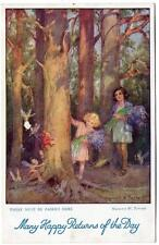 1935  MARGARET TARRANT There Must be Fairies Here  In Arcady   Postcard