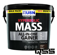 USN Hyperbolic Mass 6kg Muscle Matrix 60 Caps - OFFER Chocolate