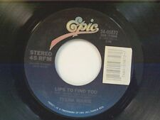 "TEENA MARIE ""LIPS TO FIND YOU / INSTRUMENTAL"" 45 NEAR MINT"