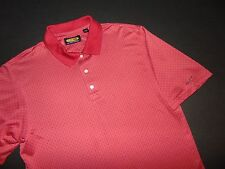 GREG NORMAN Golf Shirt ~ Large ~ PLAY DRY ~ Patterned