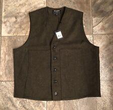 Men's Filson Mackinaw Wool Vest Size XL NWT