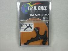 TRU Ball Fang 4 finger Hand held Mechanical Archery release Black
