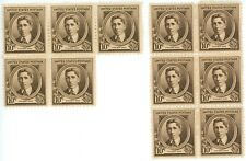 1940 10c US Postage Stamps Scott 883 Ethelbert Nevin Lot of 11