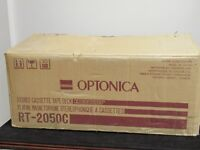 Optonica Sharp RT-2050C Stereo Cassette Tape Deck  with box and manual