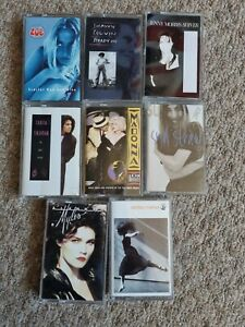 Female Vocal Cassette Tapes X8