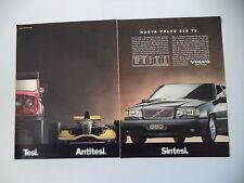 advertising Pubblicità 1994 VOLVO 850 T5