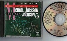 MICHAEL JACKSON & JACKSON 5 Super Best JAPAN CD 1984 issue w/PS Booklet VDP-46