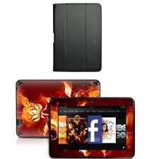 Genuine Leather Case Cover for Amazon Kindle Fire HD 8.9 inch+Skin Accessory B03