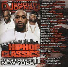 DJ SMOOTH DENALI - HIP-HOP CLASSICS 11 : THE STREETS OF NEW YORK (MIX CD)