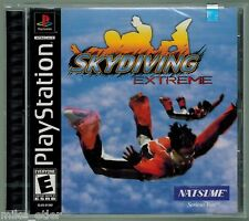 Skydiving Extreme (Sony PlayStation 1, 2001) Factory Sealed