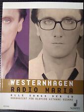Westernhagen - Songbook - Radio Maria - Noten