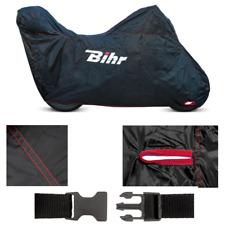 Housse de protection noir int ou ext moto ou scooter avec top case 229x99x125cm