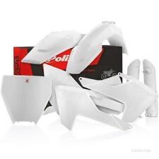 Pièces détachées de carrosserie et cadres blanc Polisport pour motocyclette Husqvarna